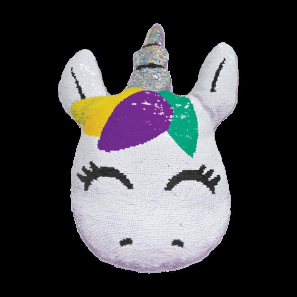 Iscream Iscream Mini Unicorn Reversible Sequin Pillow