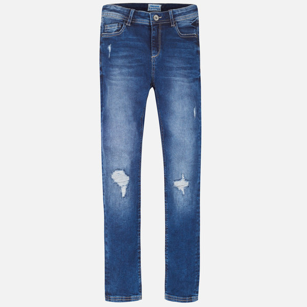 Mayoral Mayoral Girls Slim Fit Denim