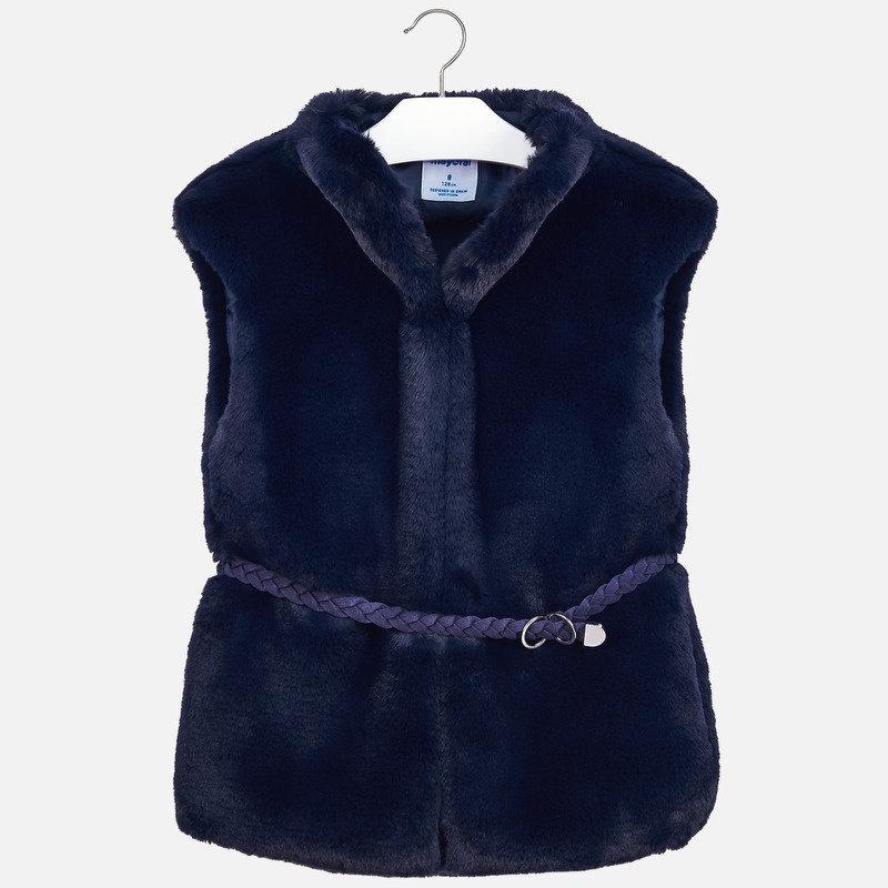 Mayoral Mayoral Fur Vest