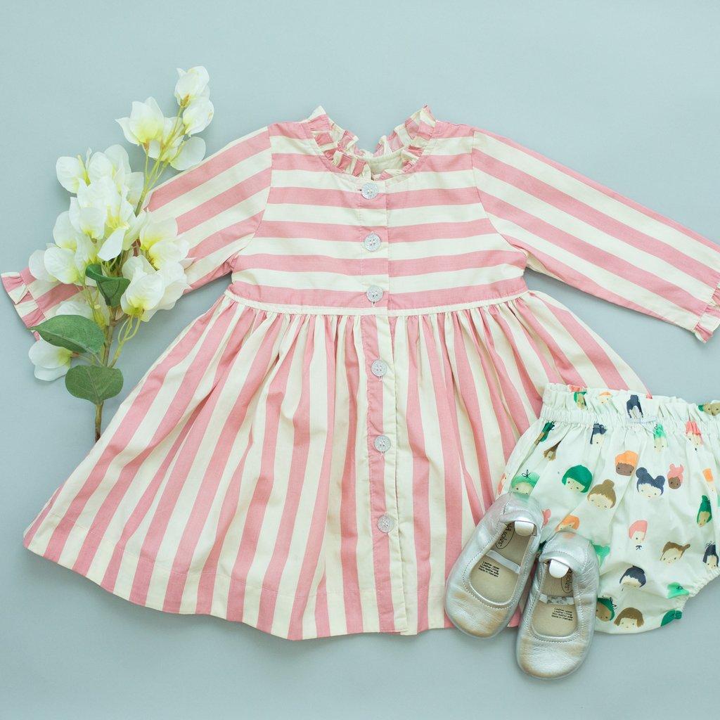 Pink Chicken Pink Chicken Autumn Dress Set