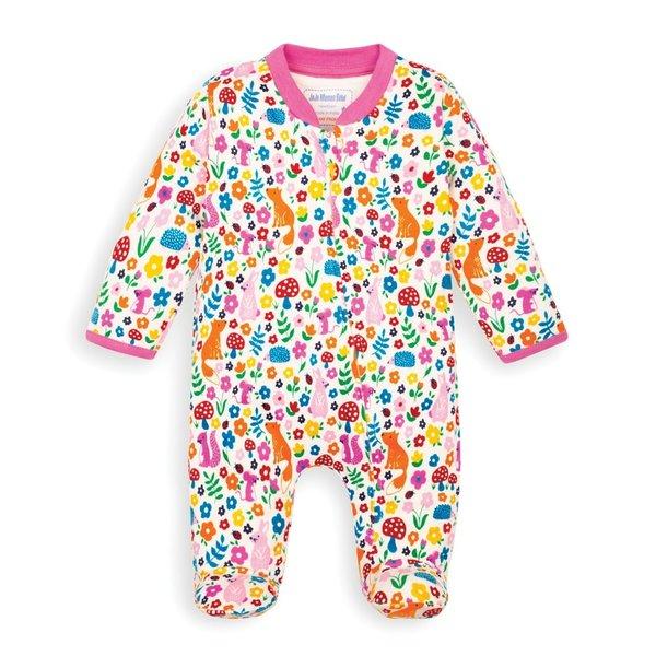 JoJo Maman Bebe JoJo Maman Bebe Zip Sleepsuit