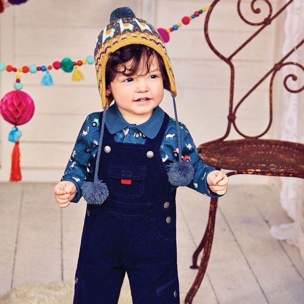 JoJo Maman Bebe JoJo Maman Bebe Poloshirt Baby Bodysuit