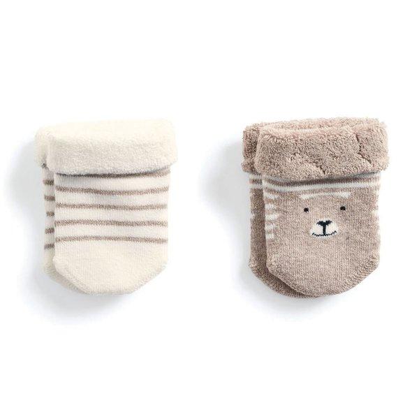 JoJo Maman Bebe JoJo Maman Bebe 2pk Baby Socks