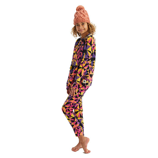 Burton Burton Girls Youth Fleece Base Layer Set