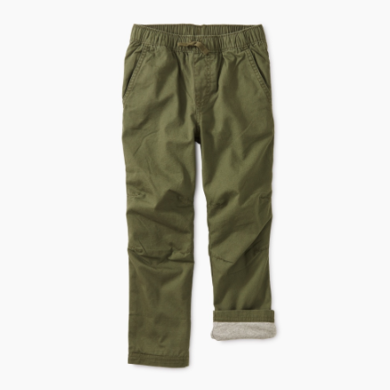 Tea Collection Tea Boys Cozy Jersey Lined Pant