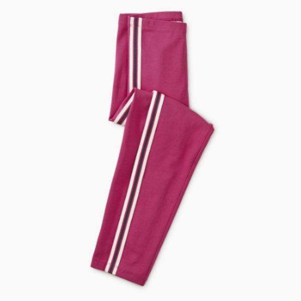 Tea Collection Tea Collection Girls Side Stripe Leggings