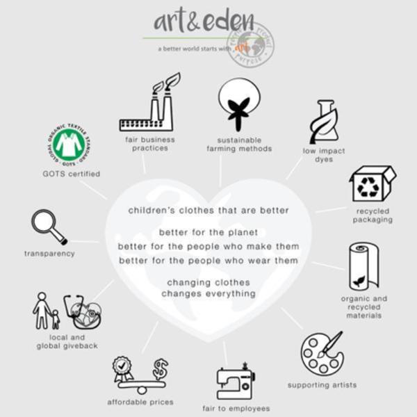 Art & Eden Arts & Eden Organic Jack Hoodie