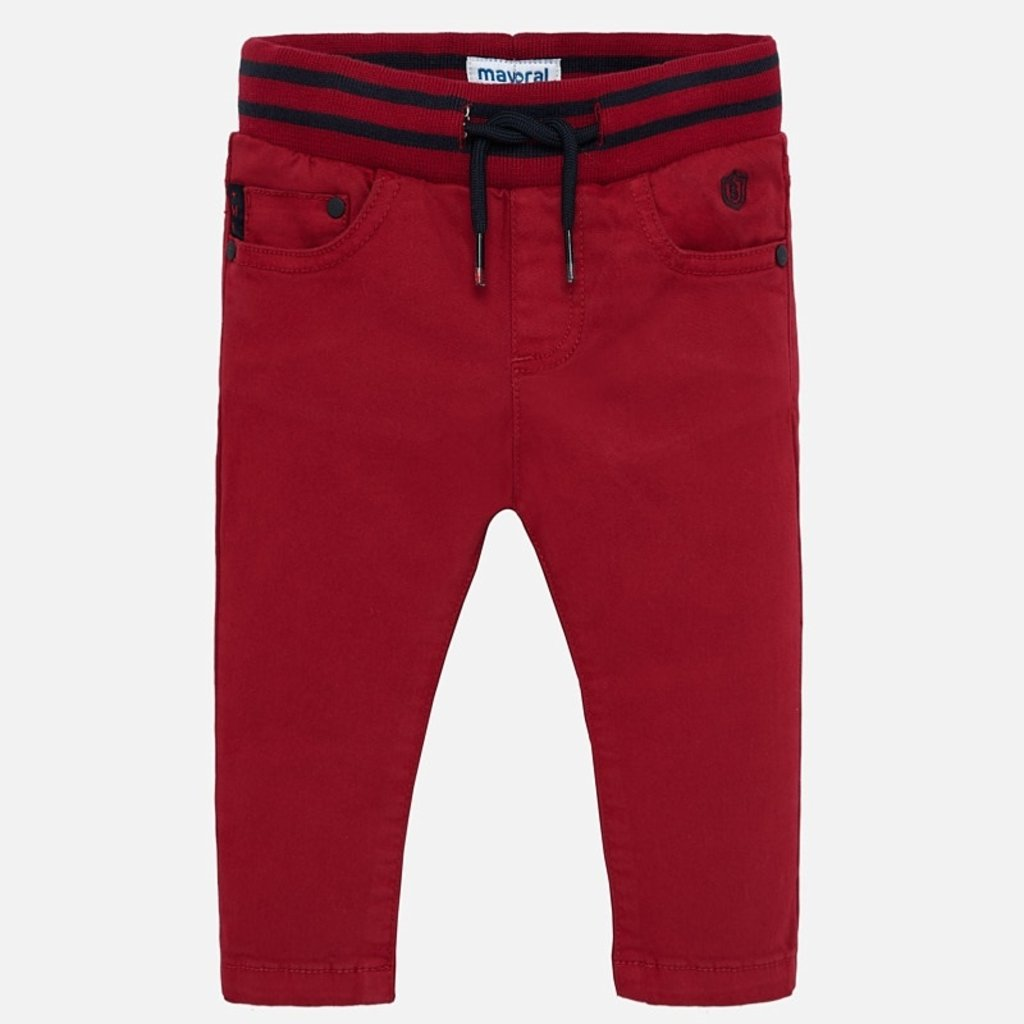 Mayoral Mayoral Baby Boys Twill Pants