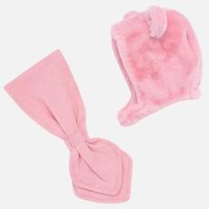 Mayoral Mayoral Baby Girl Fur Hat & Scarf Set