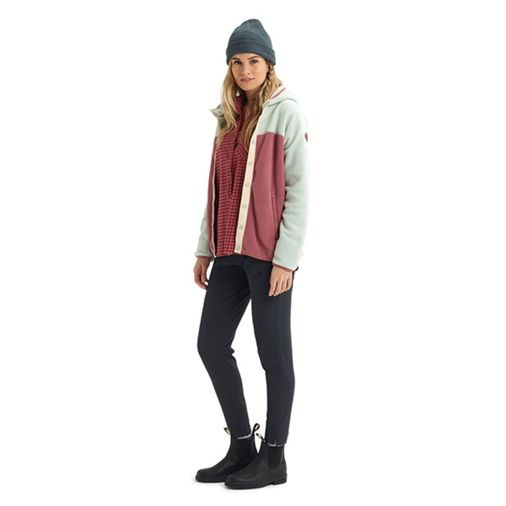 Burton Burton Womens Hearth Snap-Up Fleece