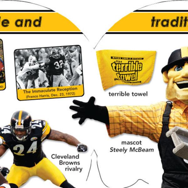 Pittsburg Steelers 101 Sports Books