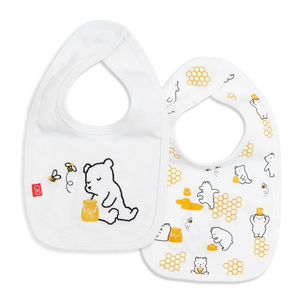 Magnificent Baby Magnificent Baby Organic Magnetic Reversible Bib