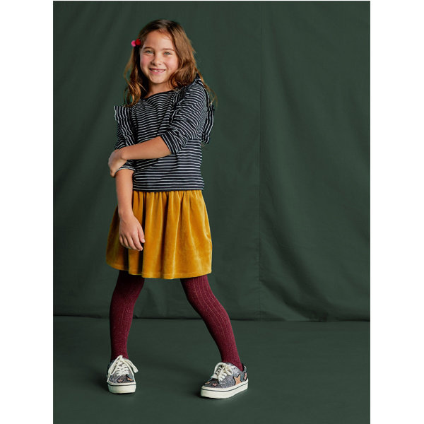 Tea Collection Tea Collection Girls Velour Twirl Skirt