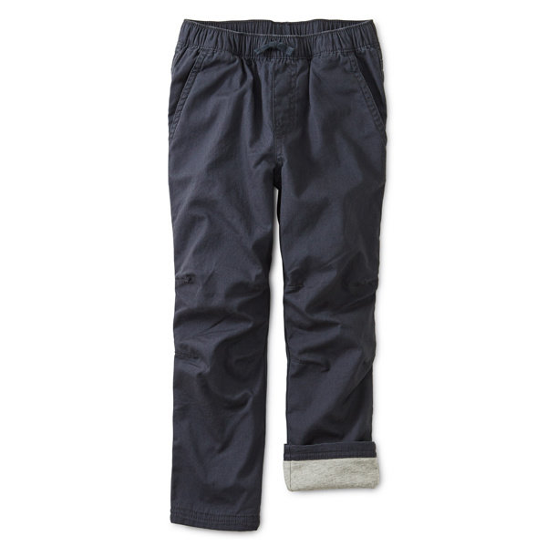 Tea Collection Tea Collection Boys Cozy Jersey Lined Pant
