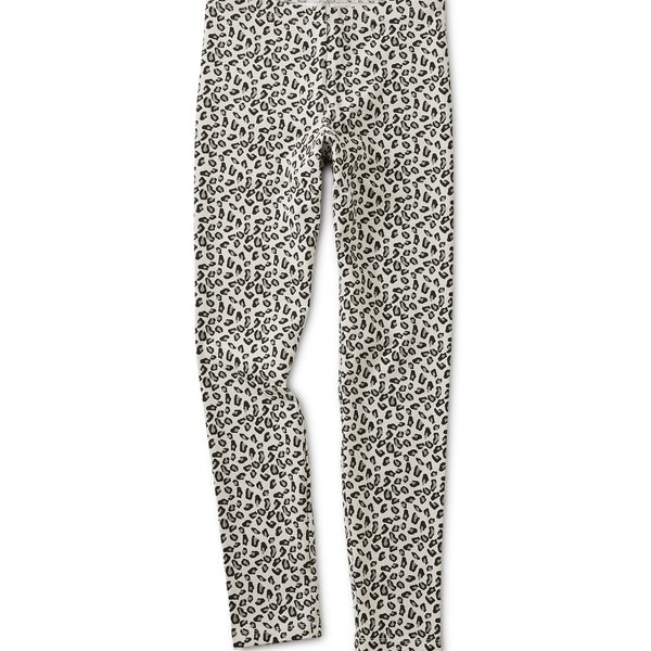 Tea Collection Tea Collection Snow Leopard Printed Leggings