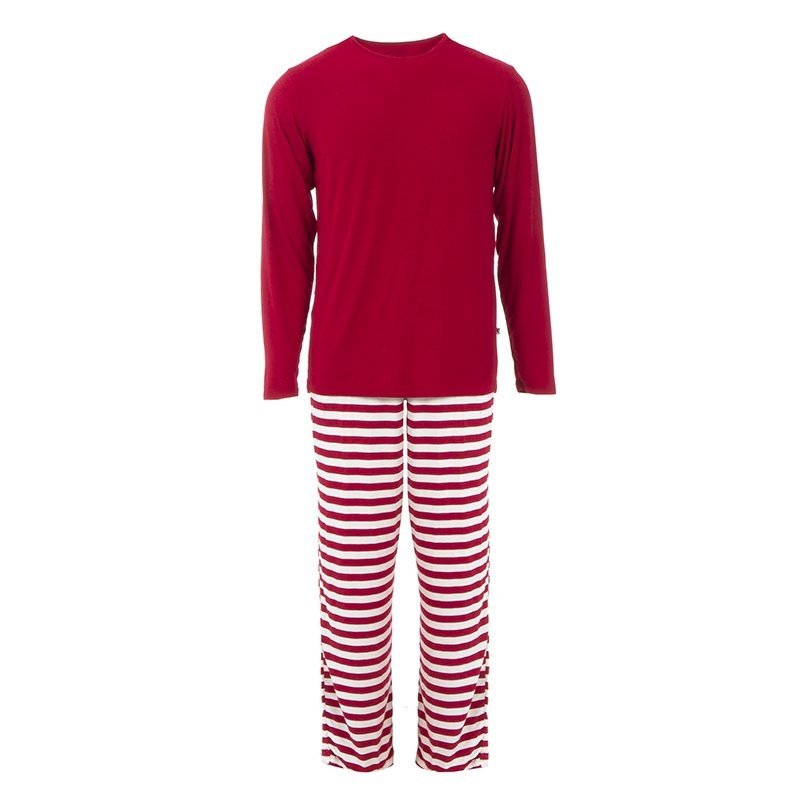 KicKee Pants KicKee Pants Mens PJ Set