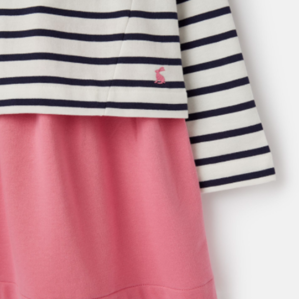 Joules Joules Girls Lucy Mock Layer Dress