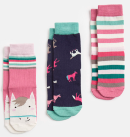 Joules Joules 3PK Socks