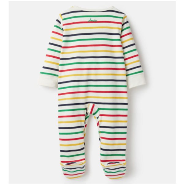 Joules Joules Baby Ziggy Striped Onesie