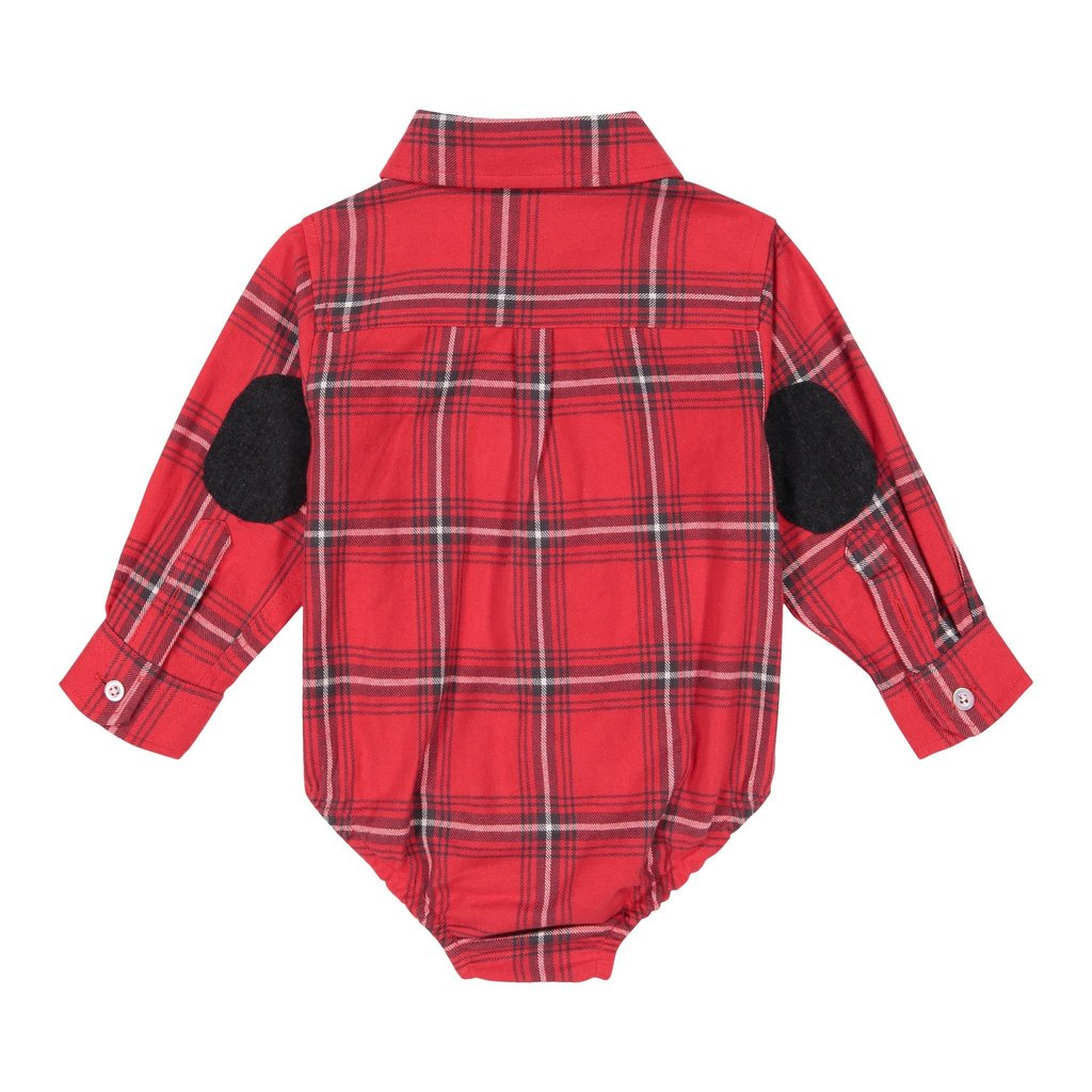 Andy & Evan Baby Boys Button Down Shirtzie