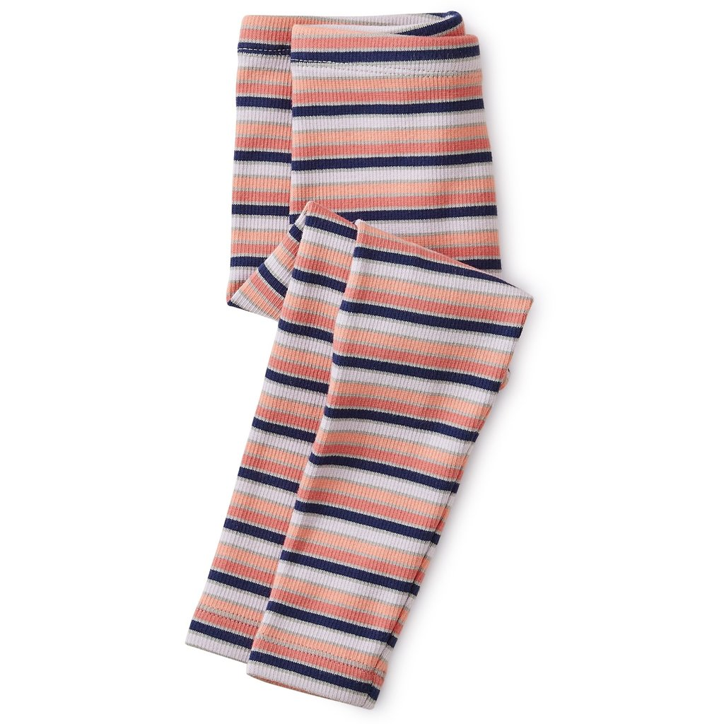 Tea Collection Tea Collection Striped Ribbed Baby Leggings