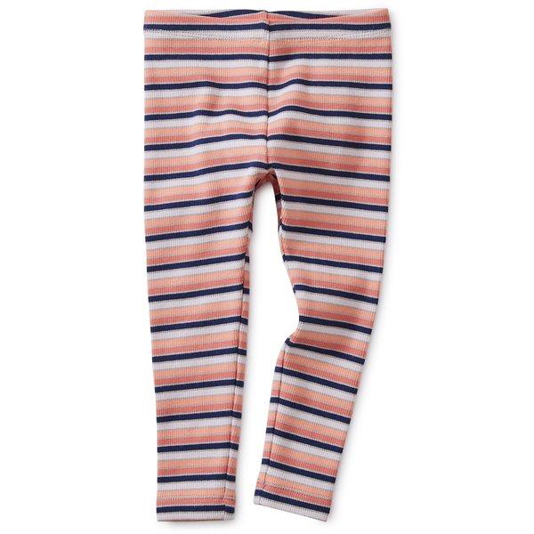 Tea Collection Tea Collection Striped Ribbed Baby Leggings