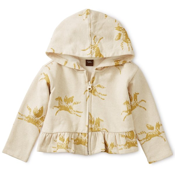 Tea Collection Tea Collection Wind Horse Baby Zip Hoodie