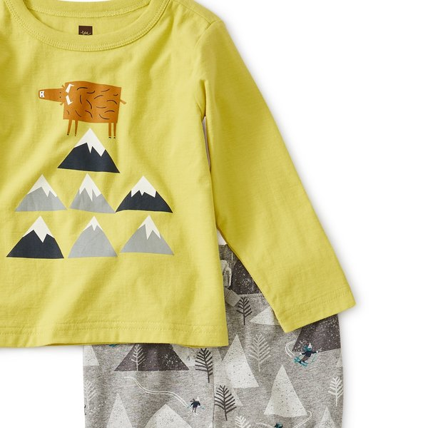Tea Collection Tea Collection Mountain Baby Set