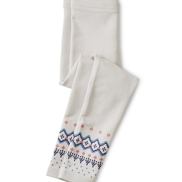 Tea Collection Tea Collection Fairisle Cozy Leggings