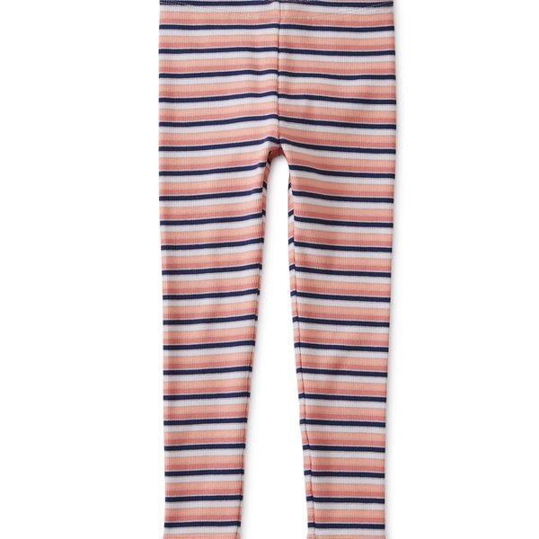 Tea Collection Tea Collection Girls Multi Stripe Ribbed Leggings