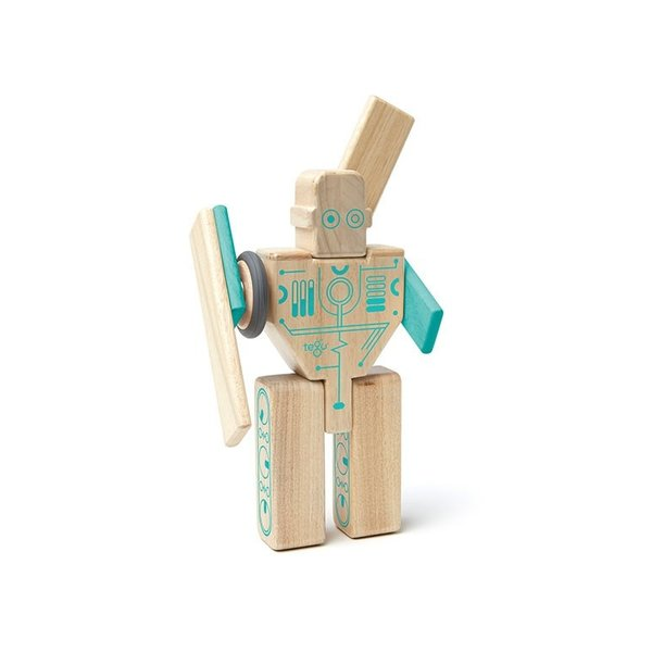 Tegu Magnetic Wood Magbot Robot
