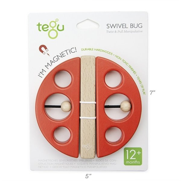 Tegu Twist and Pull Swivel Bug