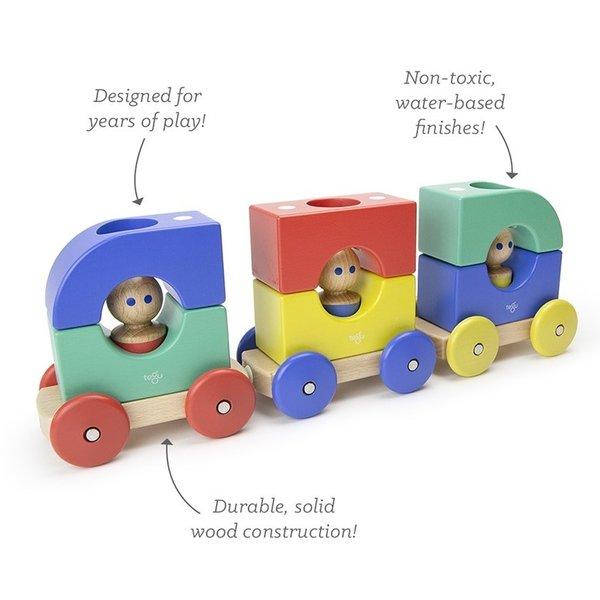 Tegu Magnetic Big Top Wooden Tram