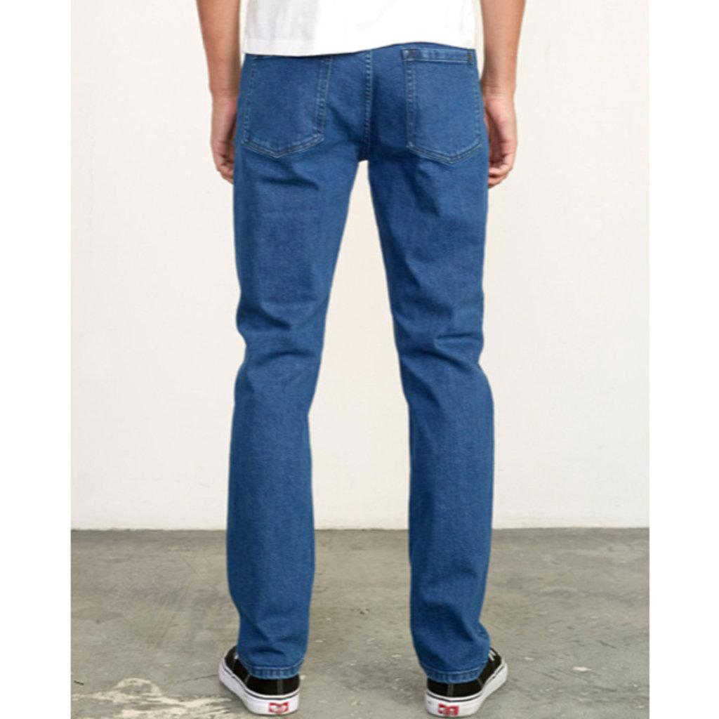 RVCA RVCA Mens Daggers Slim-Straight Denim Jeans