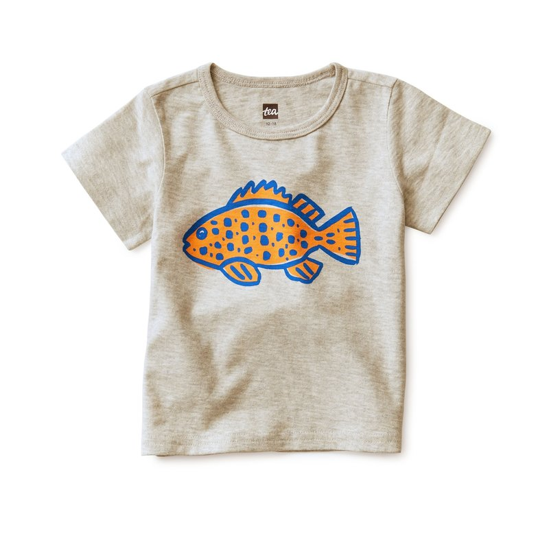 Tea Collection Tea Kids Fishy Tee