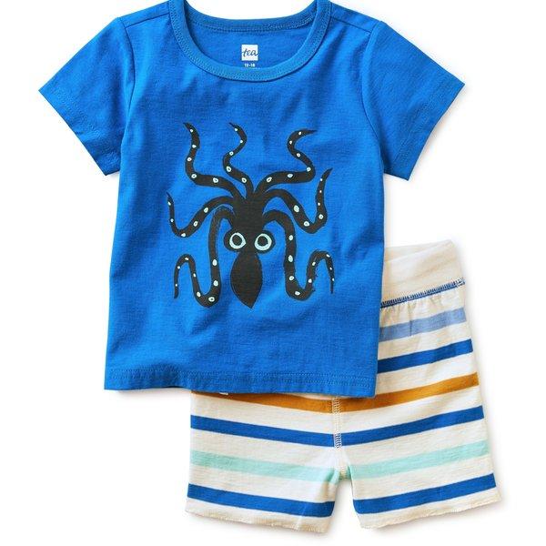 Tea Collection Tea Collection Boys Octopus Set