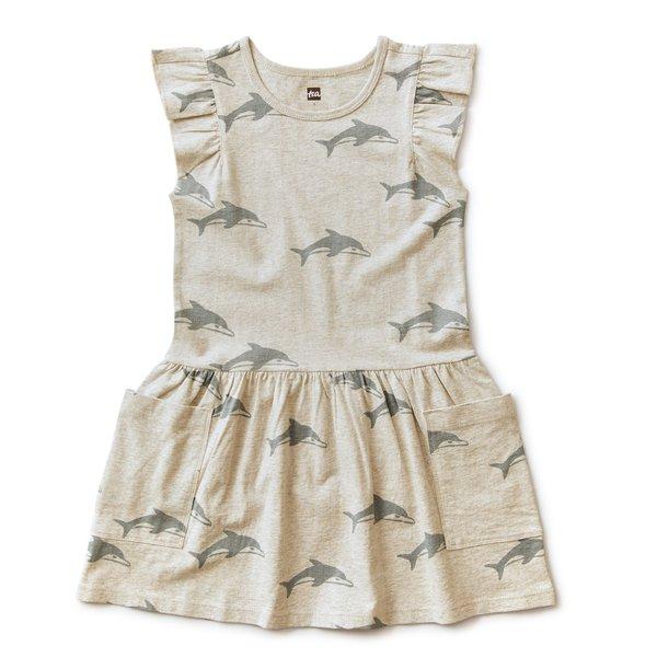 Tea Collection Tea Collection Girls Pocket Dress