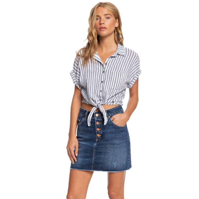 Roxy Roxy Surfing Girl Denim Skirt