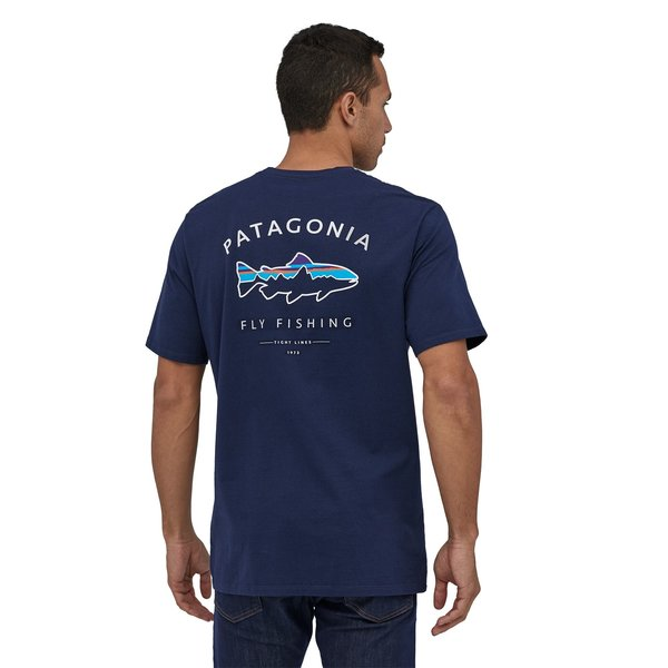 Patagonia Patagonia Men's Framed Fitz Roy Trout Organic Cotton T-Shirt