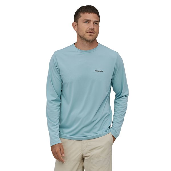 Patagonia Patagonia Men's Long-Sleeved Capilene Cool Daily Fish Graphic Shirt