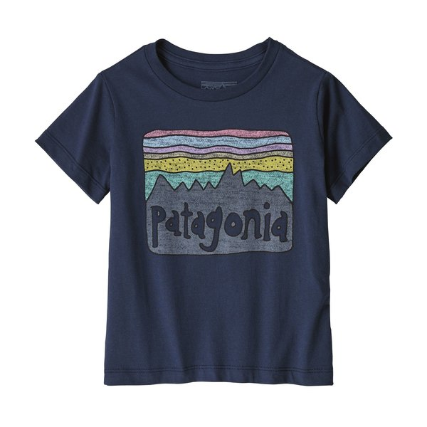 Patagonia Patagonia Kids Fitz Roy Skies Organic Cotton T-Shirt