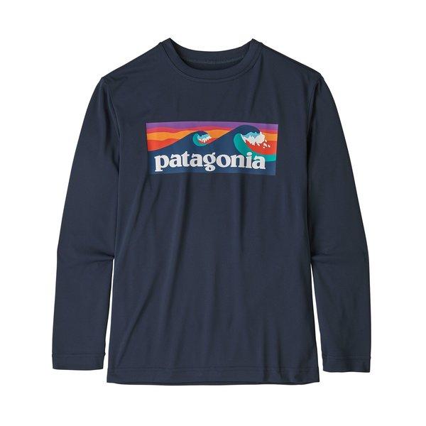 Patagonia Patagonia Boys Long-Sleeved Capilene Cool Daily T-Shirt