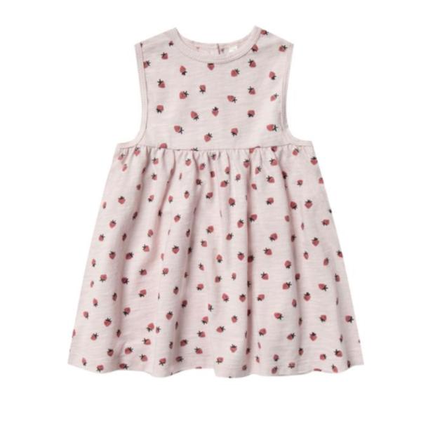 Rylee & Cru Rylee & Cru Baby Girls Strawberry Layla Dress