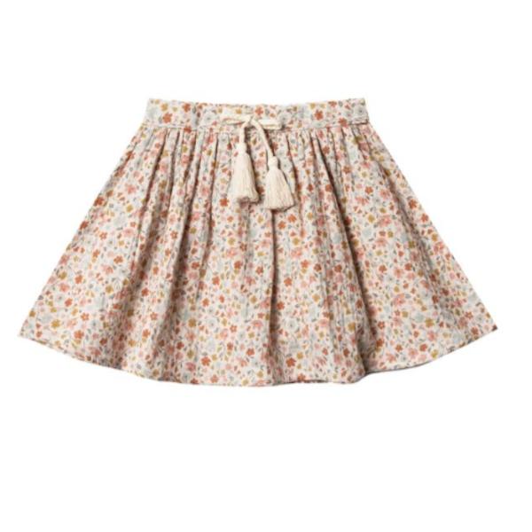 Rylee & Cru Rylee & Cru Girls Flower Field Mini Skirt