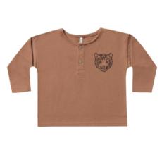 Rylee & Cru Rylee & Cru Baby Boys Tiger Henley Sweatshirt