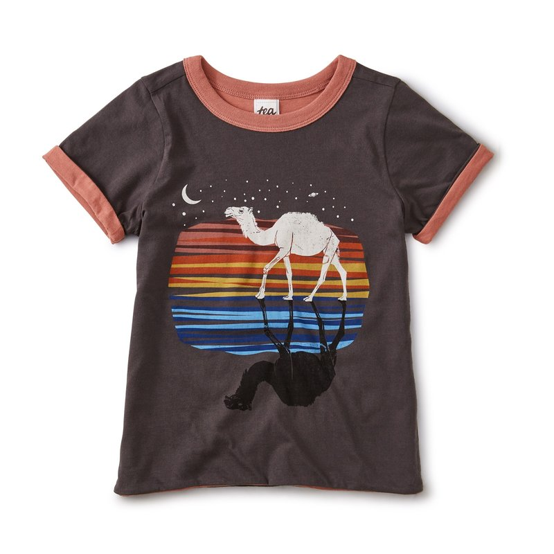 Tea Collection Tea Boys Rev Camel Tee