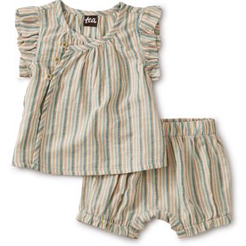 Tea Collection Tea Stripe Set