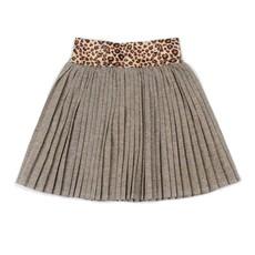 EGG New York EGG New York Girls Leopard Gold Margaret Skirt
