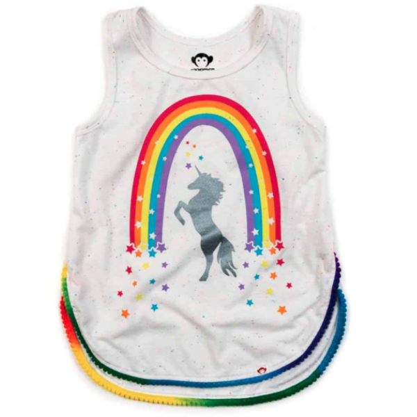 Appaman Appaman Girls Unicorn Morgan Tank