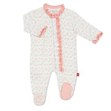 Magnetic Me Magnificent Baby Modal Magnetic Footie Ruffles